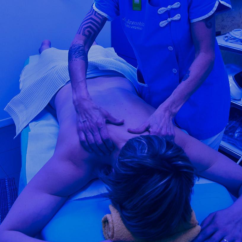 Cromoterapia luce blu