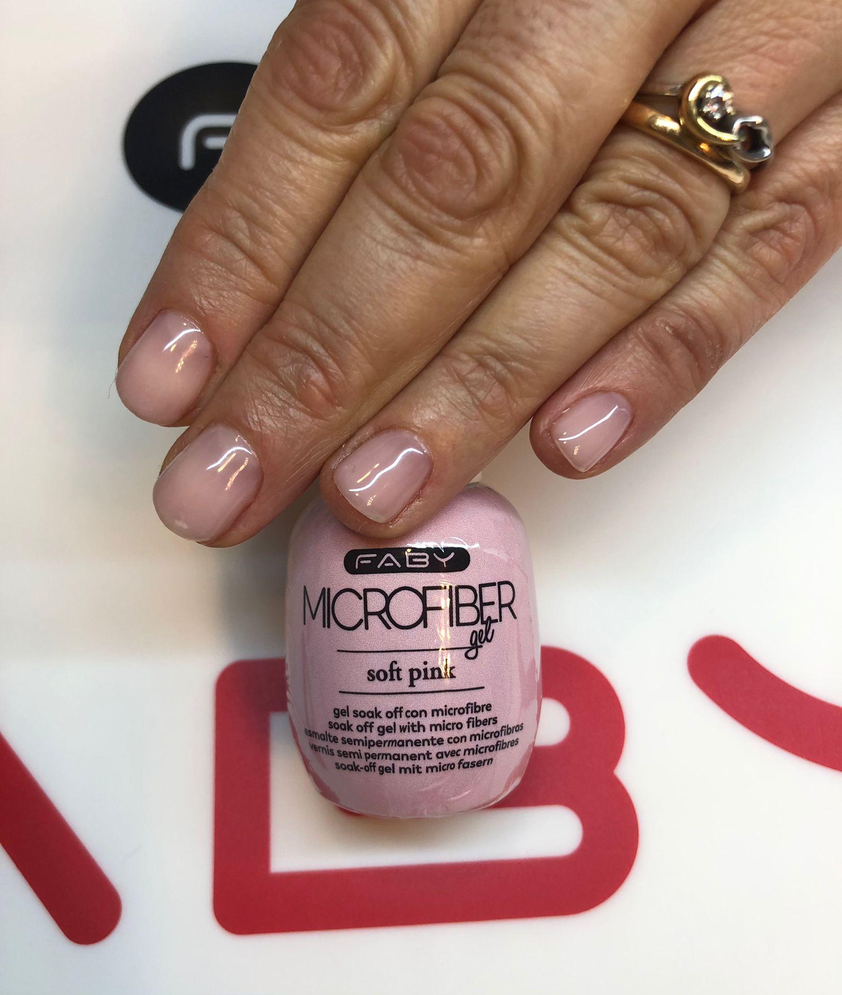 Microfiber Gel Soft Pink